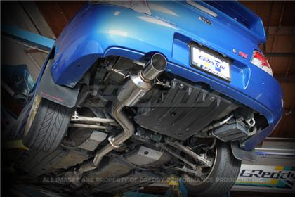 Elite Auto Works Ny Greddy 02 07 Subaru Wrx Sti Evo3 Exhaust